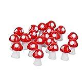 DierCosy Miniatura Hada de la Seta Jardín Micro Paisaje Planta de los Bonsai Decoración de Resina Mini Seta de Casa de los Niños del Ornamento del Arte de DIY 20Pcs