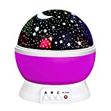 ATOPDREAM Toys for 7-8 Year Old Boys Girls, Wonderful Quiet Rotating Star Night Light Projector Toys for 2-10 Year Old Girls Christmas Gifts for 2-10 Year Old Boys Stocking Fillers Stocking Stuffers