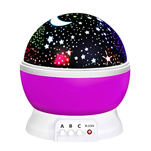 ATOPDREAM Toys for 7-8 Year Old Boys Girls, Wonderful Quiet Rotating Star Night Light Projector Toys for 2-10 Year Old Girls Easter Gifts for 2-10 Year Old Boys Easter Basket Stuffers