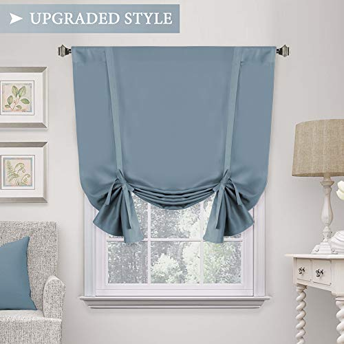 kitchen curtains insulated - 4
