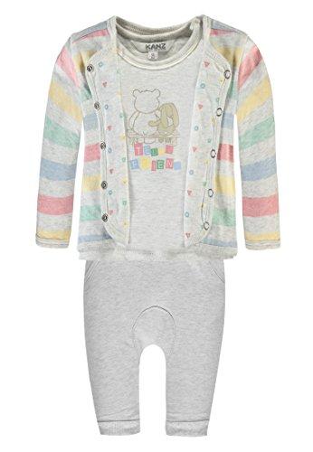 Kanz Unisex Baby Wendejacke Arm + T-Shirt 1/1 AR Bekleidungsset, Mehrfarbig (Allover 0003), 74