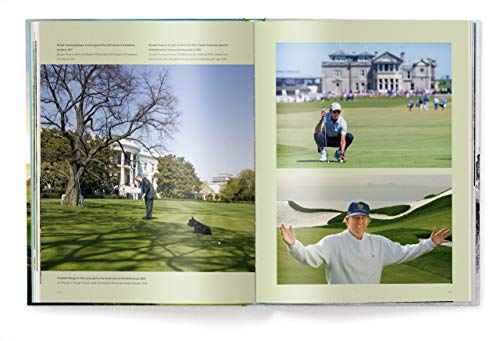 Golf - Das ultimative Buch, Golf-Legenden und Lifestyle, alles für den passionierten Golfer (Deutsch, Englisch) 25 x 32 cm, 256 Seiten - 10