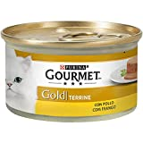 Purina Gourmet Gold Terrine comida para gatos con Pollo 85 g