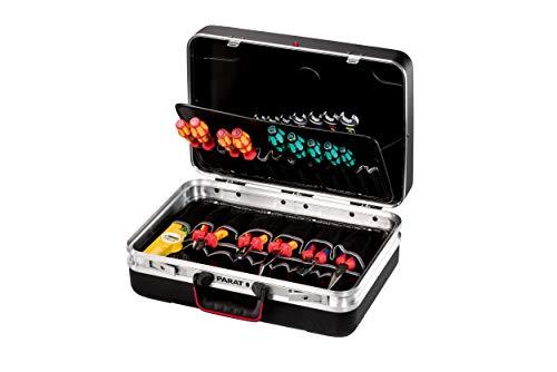 Parat SILVER Plus Werkzeugkoffer (2 Schlüssel, 1 Längssteg, 3 Querstege, 48 x 35 x 18 cm, ohne Inhalt) 533.000.171
