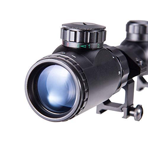 Pinty(ピンディー)ライフルスコープ3-9X4011段階輝度調整可変倍率実銃ガンサバゲー20mmマウント付