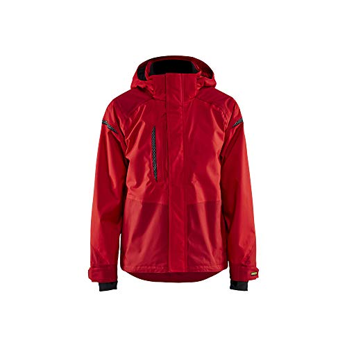 Blaklader 4988198756584XL kurtka Shell kurtka, czerwony/ciemnoczerwony, rozmiar 4XL