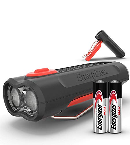 Energizer Clip On LED Flashlight - Ultra Bright 85 Lumens, Lightweight and Compact, Best Cap Light Flash Light Headlamp for Fishing, Running, Camping, Reading in Bed, Cycling, Work, 50033, Multi