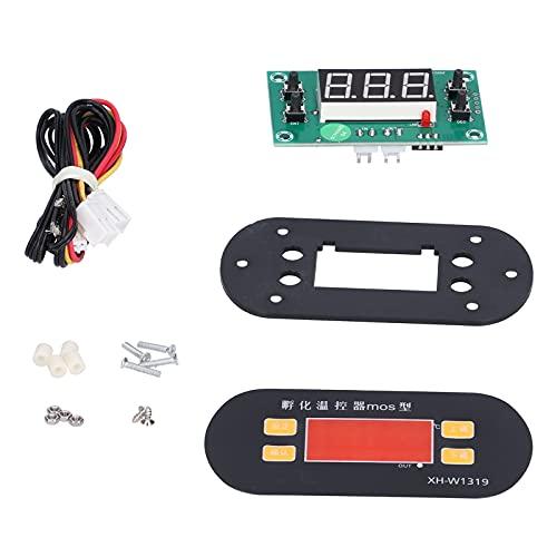 Regolatore di Temperatura Speciale per Incubatrice Transistor di Riscaldamento Silenzioso in Fibra di Vetro con Sonda Impermeabile da 1 Metro per Serra Incubatrice XH‑W1319 0-110℃