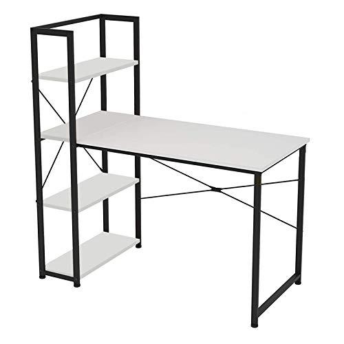 Schreibtisch, computertisch, 120 * 64 * 72cm, Spanplatte + Stahlrohr, mit Ablagefläche