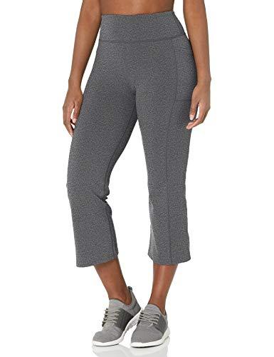 Skechers Women's Go Walk GoFlex High Waisted Crop Pant Pantis, Gris, XXL para Mujer