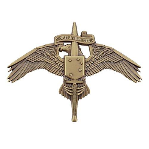 MARSOC Marine Corps Badge Large (ANTIQUE)
