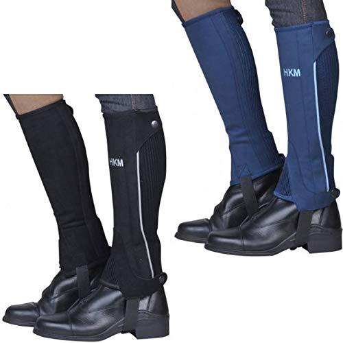 HKM Special Polainas de equitación, Hombre, Azul (Blau/Baby
