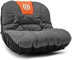 Husqvarna Tractor Seat Cover Riding Mower Accessories, Orange/Gray