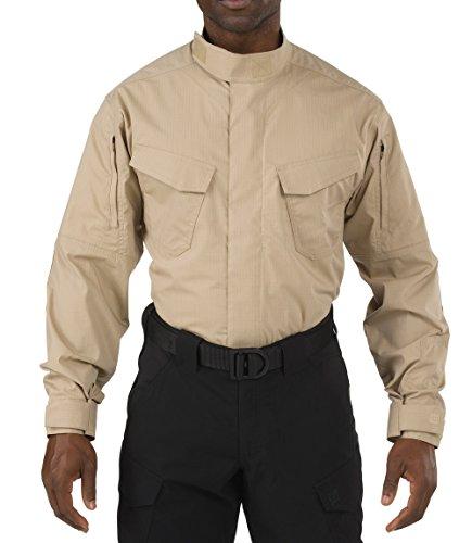 5.11 Tactical Series 511-72416 Chemise Tactique Mixte Adulte, TDU Khaki, FR (Taille Fabricant : 3XL)