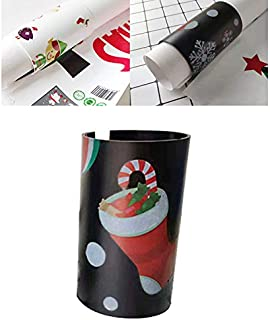 Wrapping Paper Cutter Mini Christmas Stocking Wrapping Paper Craft Cutting Tools for Thanksgiving Christmas Wall Sticker Decorations, Quick, Easy, Safe (Black)
