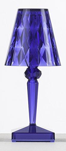 Kartell Battery Lámpara, Azul, 12 x 26 x 12 cm