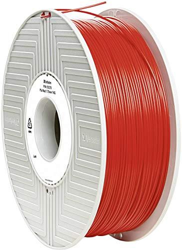 Verbatim 1.75 mm PLA Filament for Printer - Red