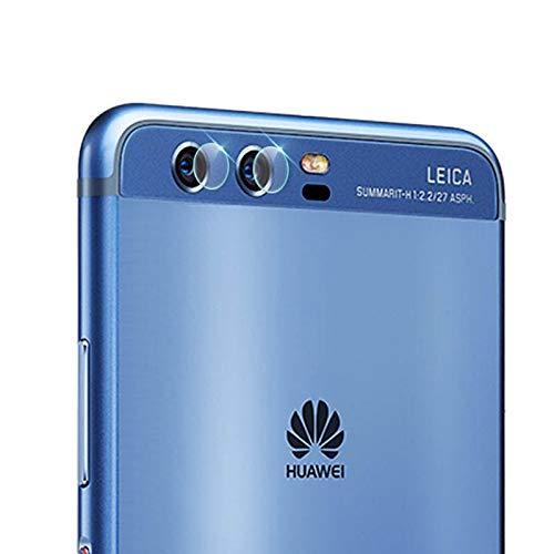 GGQQ Agan AYDD 0.3mm 2.5D Protector de Cristal Templado de la Lente de cámara Trasera Transparente para Huawei P10