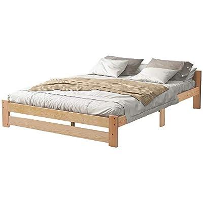 Excelente apariencia: todos los componentes se han coordinado perfectamente. Las cavidades en la superficie de la cama garantizan una ventilación óptima mientras que la madera se puede tratar y ajustar según tus necesidades. Disfruta del maravilloso ...