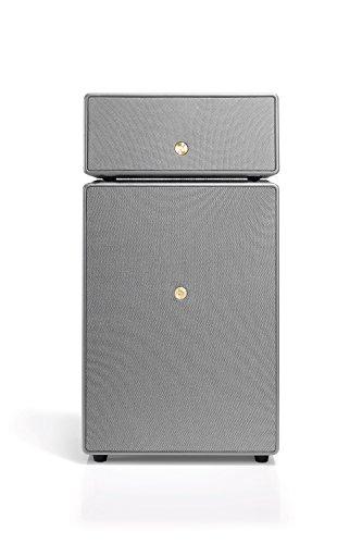 Audio Pro Drumfire Lautsprecher (300 W, Multiroom, Wifi, Bluetooth, Spotify Connect, Air Play, Internetradio) Dusk Grey