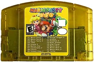 $43 » WPOMLEN 18 In 1 Game Cartridge Card Compatiable for N64 with MARO Party 1 2 3 and 15 NES Support Games