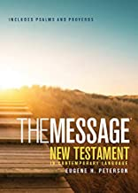 The Message New Testament with Psalms and Proverbs, Pocket (Softcover, Boardwalk Sunrise): The New Testament in Contemporary Language
