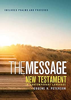 The Message New Testament with Psalms and Proverbs Pocket  Softcover Boardwalk Sunrise   The New Testament in Contemporary Language