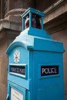 ERZAN1000ピース ジグソーパズル古い警察の電話ポストコールボックスロンドンイングランド完成サイズ70×50cm