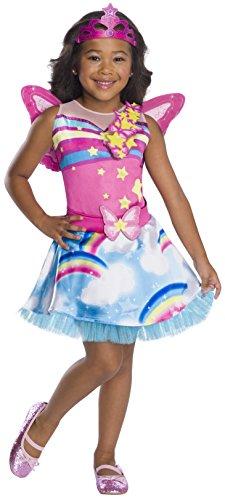 Rubie's Costume Co Barbie Dreamtopia Childrens Costume, Fairy, Small