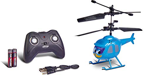 Carson 500507147 Ben The Bird, IR RTF, Hubschrauber, Ferngesteuerter Modell, RC Helikopter, inkl. Batterien und Fernsteuerung, 100% flugfertig, einfach zu fliegen