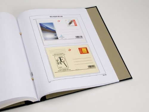 DAVO 21956 Luxus Vordrucke Belgien Postkarten 2006