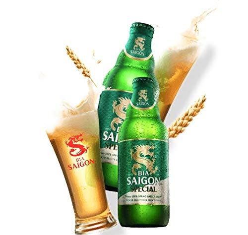 BIA Saigon Special 0,33l,Bier aus Vietnam wir führen dieses in Set`s zu 6, 12 und 24 Flaschen (12)