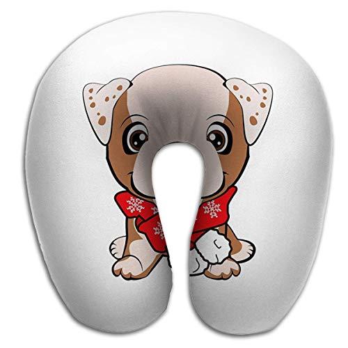 Almohada en Forma de U Moda Transpirable Ajustable Lindo Cachorro Flor Dibujos Animados Dibujado a Mano Se Puede Usar Imprimir Ropa para niños Moda Bebé SHO