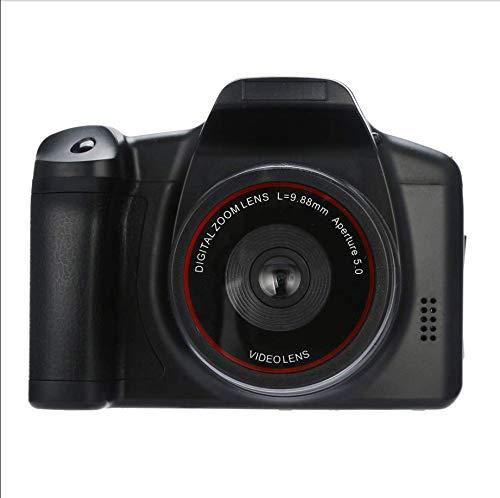 Cámara Digital de Mano HD 1080P Videocámara Portátil Zoom Digital 16X Máximo 16 Millones de Píxeles Función de Estabilización de Imagen Pequeña Cámara Digital SLR Casera