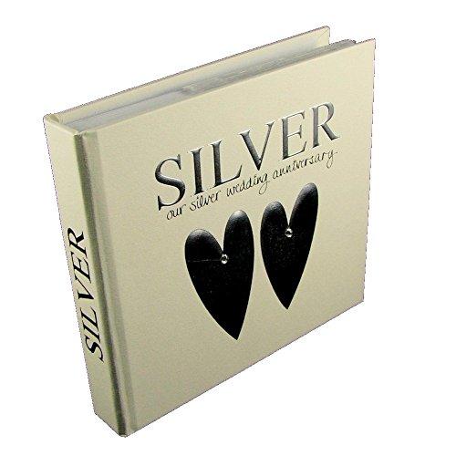 Euphyllia fotoalbum & bewaardoos zilver verjaardag (w254-25)