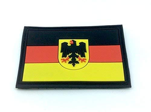 Patch Nation Deutsch Deutschland Königlichem Wappen B&esadler Flaggen PVC Klett Abzeichen