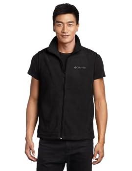 Columbia Men s Big & Tall Cathedral Peak II Fleece Vest Black 2X