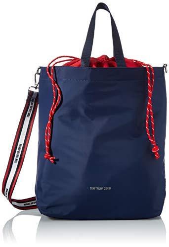 TOM TAILOR Denim Damen Alexia Backpack, Mixed maritim, M