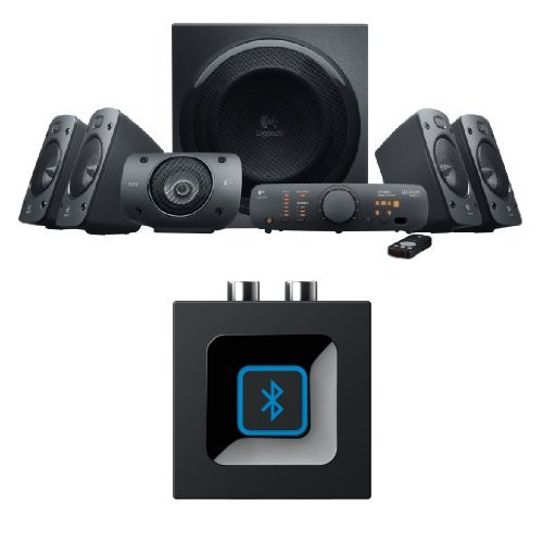 Logitech Z906 5.1 Surround Sound Speaker System, THX, Dolby & DTS Certified, 1000 Watts Peak...