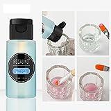 Kapian 30ml UV Gel Polish Acrylentferner und Pinselreiniger Flüssigkeit für Nail Art Powder Nagellackentferner Wasser