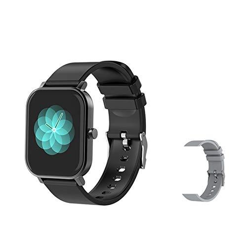 LDJ S10 Smart Watch Men's Sports Sports Reloj De Ritmo Cardíaco Sphygmomanometer IP67 Smartwatch Impermeable para Android iOS Teléfono,I