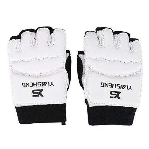 Taekwondo Handschuhe Handschutz Training Boxhandschuhe Erwachsene / Kinder Taekwondo Sparring Hand Fußschutz Cover Boxen Handschuhe für Sandsack, Freefight, Grapling, Kampfsport(S-Hand)