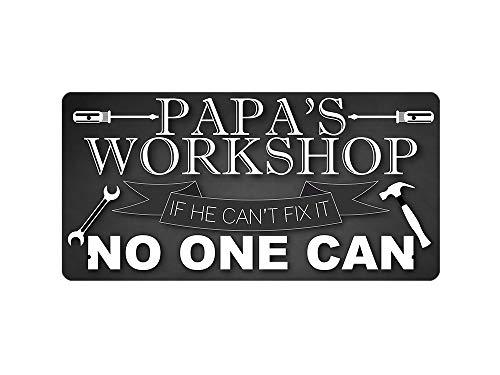 McMug Papa's Workshop - Metal Sign