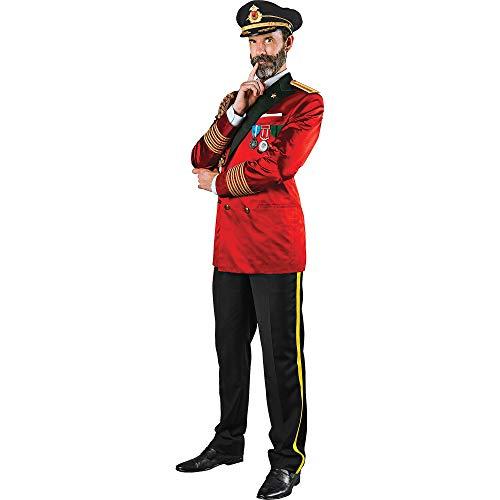 Franco American Novelty Men's Jacket, Red, Standard