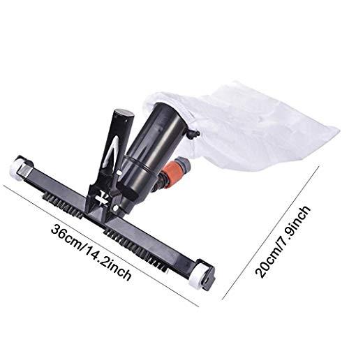 GKanMore Swimming Pool Vacuum Head with Bag Brush and EZ Clip Handle 14