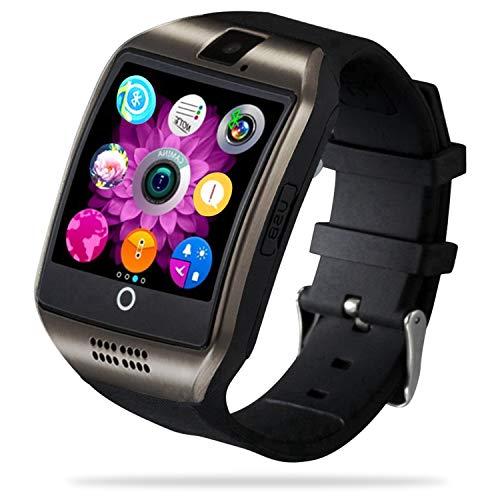 FENHOO Smartwatch, Orologio Fitness Tracker Watch Uomo Donna bambina con slot per scheda SIM Contapassi, Cronometro Sportivo Activity Tracker con Chiamata e Notifiche Messaggi Smart Watch per Android