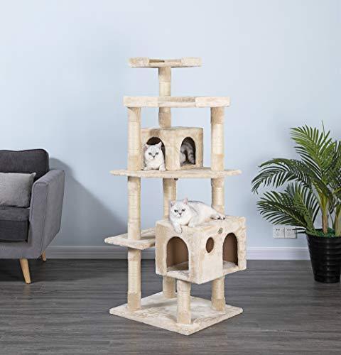 Go Pet Club F2020 Cat Tree Condo Scratcher Post Pet Bed Furniture