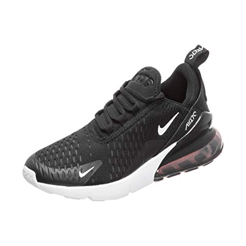 Nike Air MAX 270 (GS), Zapatillas de Gimnasia Hombre, Negro (Black/White/Anthracite 001), 38 EU