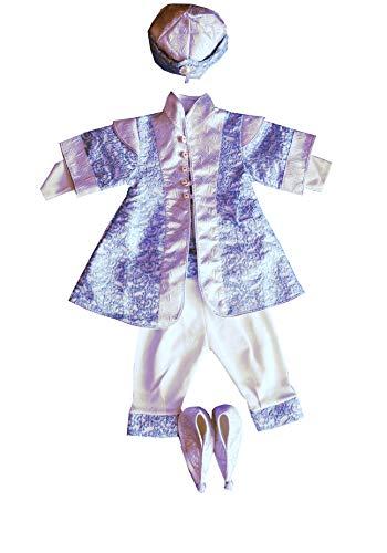 generisch 5 Teiler Sehzade Mevlüt Takimi Blau- Silber Erkek mevlit takimi 5 Parca Mavi - Gümüs Taufbekleidung (68-74)