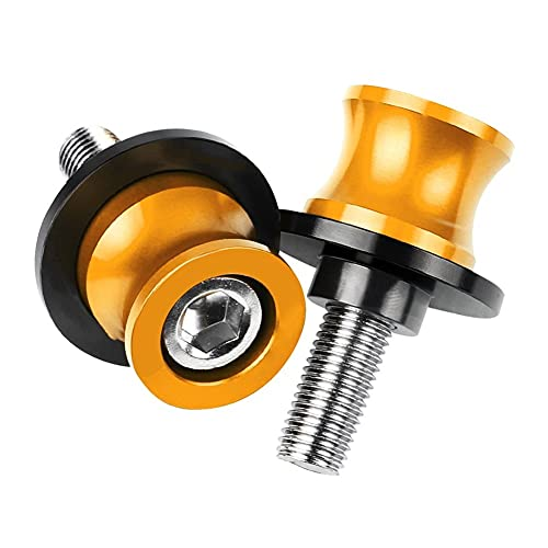 Tornillos Soporte 6MM para Y&amaha para M&T09 para M&T-09 para M&T09 para T&Racer 15-20 para T&Racer CNC Aluminio Swingarm Slider Spools para M&T 09 Moto Protección contra caídas